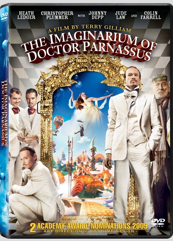 The Imaginarium of Doctor Parnassus Doctor Parnassus DVD CoverThe Imaginarium Of Doctor Parnassus Poster