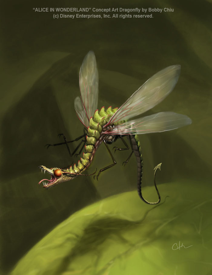 Dragonfly Concept Art
