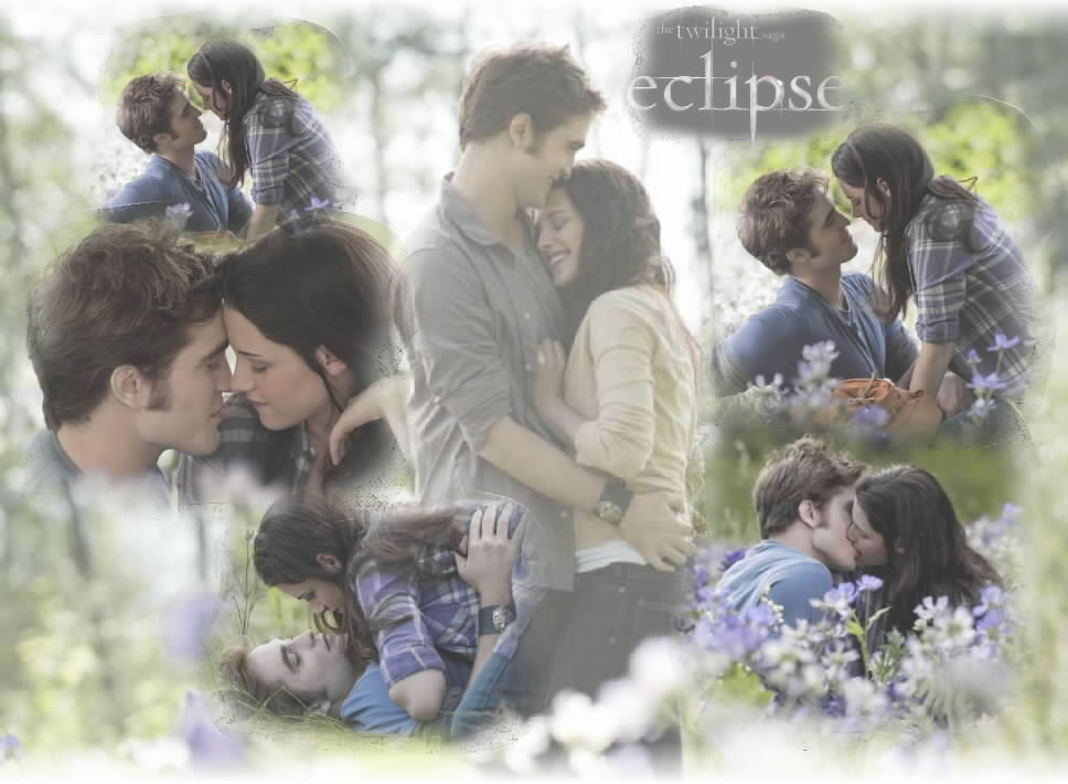 Edward and Bella in the Meadow