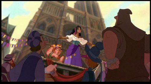 héroïnes des dessins animés de l'enfance fond d'écran titled Esmeralda