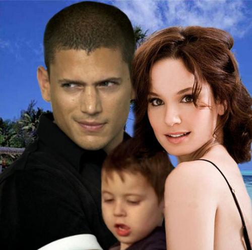 Family Scofield - Michael+Sara+MJ