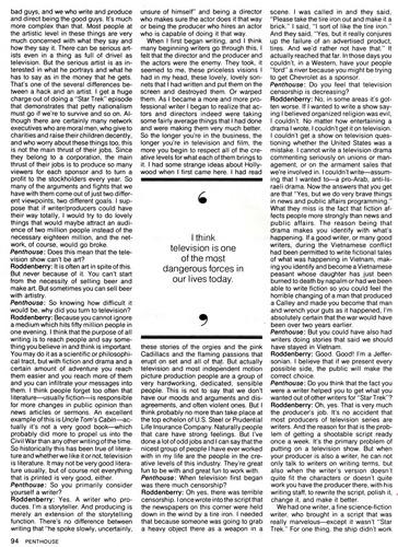 Gene Roddenberry Interview