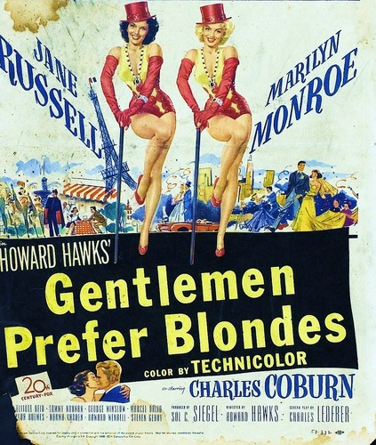 Gentlemen Prefer Blondes - Poster