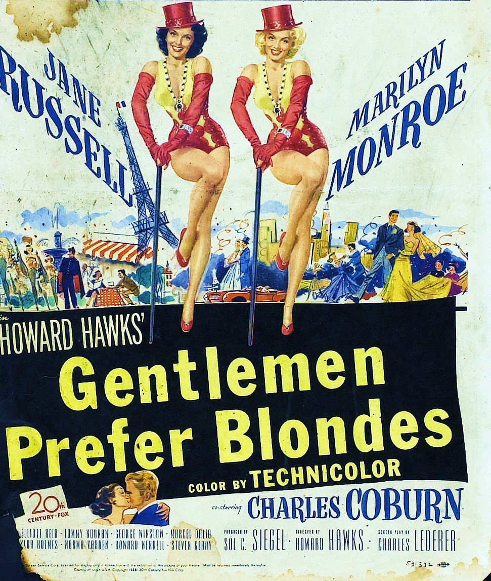 an analysis of the topic of the rear window and the gentlemen prefer blondes