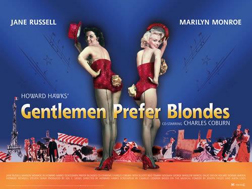 Gentlemen Prefer Blondes - Poster