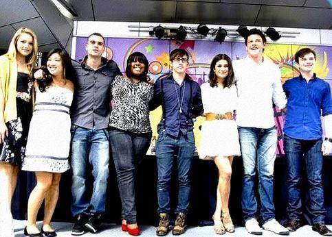 ग्ली Cast <3