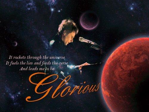 Matthew Bellamy wallpaper titled Glorious