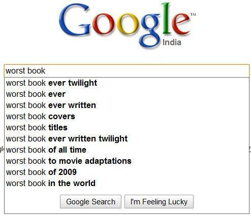 Google's opinion