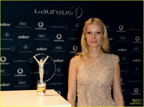 Gwyneth @ Laureus World Sports Awards