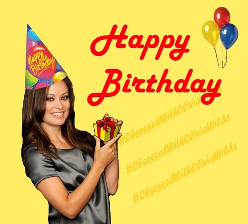 Olivia Wilde wallpaper called HAPPY BIRTHDAY!!!!