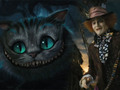 Hatter and cat - mad-hatter-johnny-depp photo