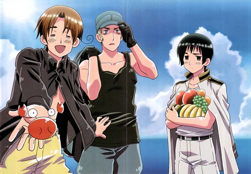 Hetalia (Italy, Japan & Germany)