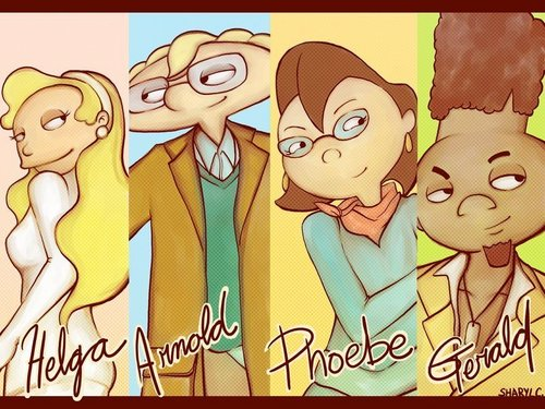 Hey Arnold! Gang When They're 25 - hey-arnold Fan Art