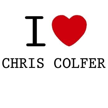 I प्यार CHRISCOLFER