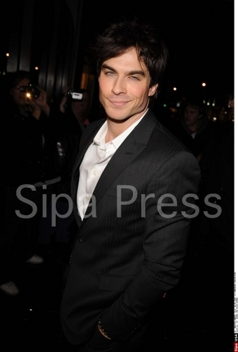 Ian @ Chanel party in honor of the Oscars, March 6, 2010