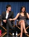 Ian/Nina ♥ holding hands ♥