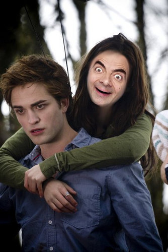 If Mr. Bean was in Twilight - random Photo