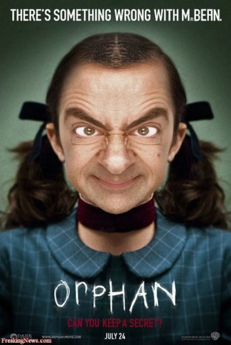If Mr. Bean was in the Orphan - random Photo