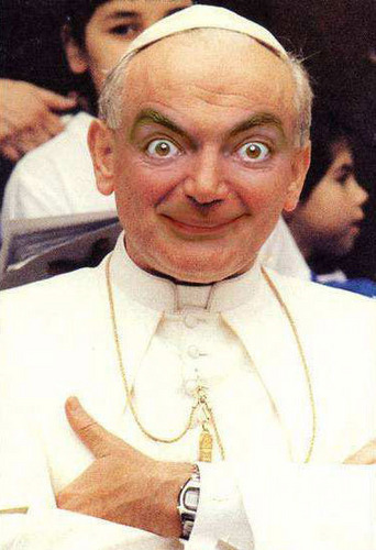 If Mr. haricot, fève was the Pope