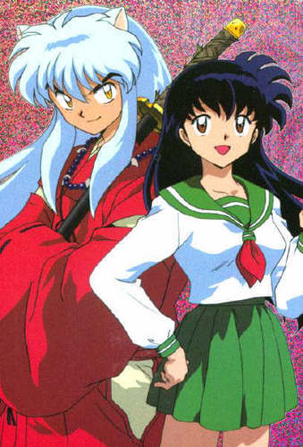 Inu  and  Kagome