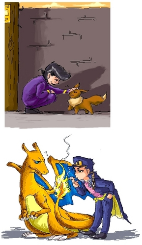 JJBA X POKEMON