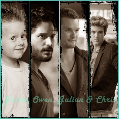 Jamie, Owen, Julian & Chris