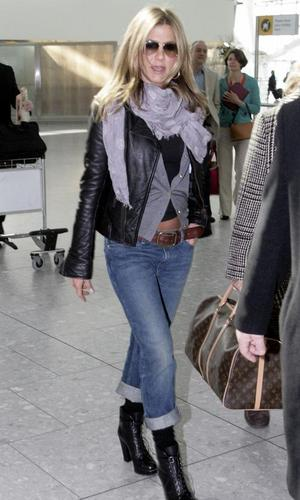 Jennifer @ Heathrow Airport