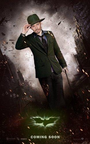 Jhonny Depp as the Riddler