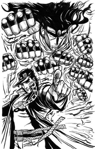Jotaro Kujo Art