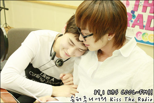 Super Junior Обои entitled KTR Kyu and Teukie