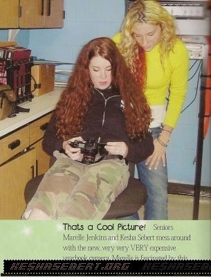 Ke$ha Yearbook Pics