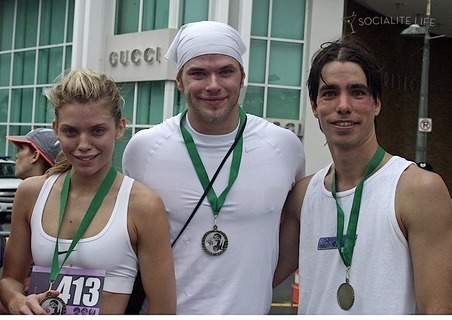 Kellan at run for life race - emmett-cullen Photo