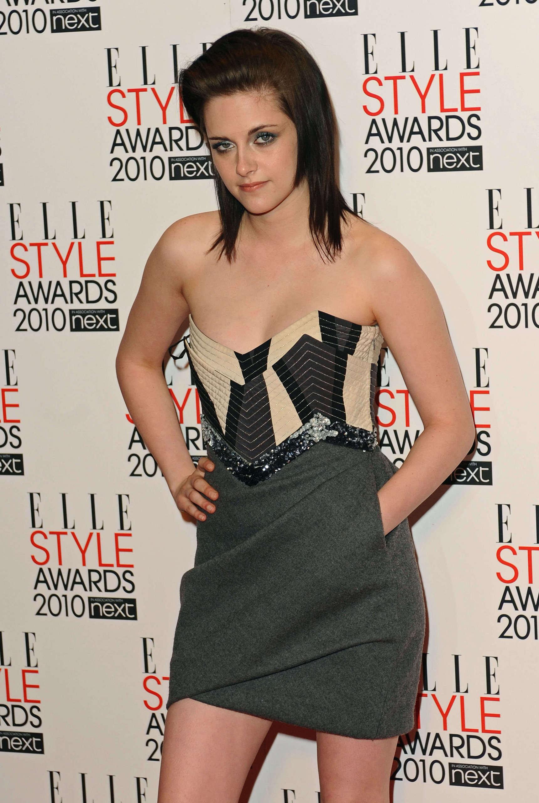Kristen Stewart on Elle Style Awards