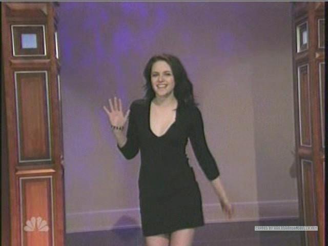 Kristen on The Tonight 表示する With カケス, ジェイ Leno