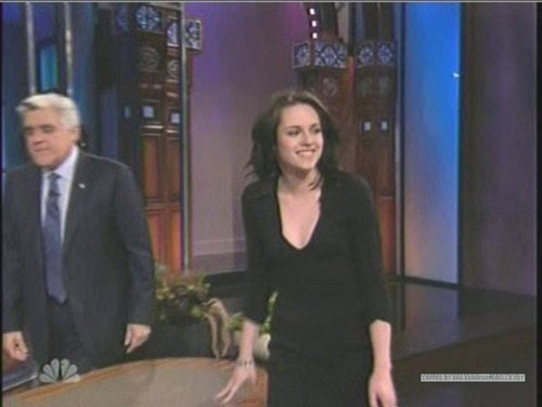 Kristen on The Tonight mostrar With arrendajo, jay Leno