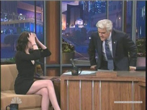 Kristen on The Tonight 显示 With 松鸦, 杰伊, 杰伊 · Leno