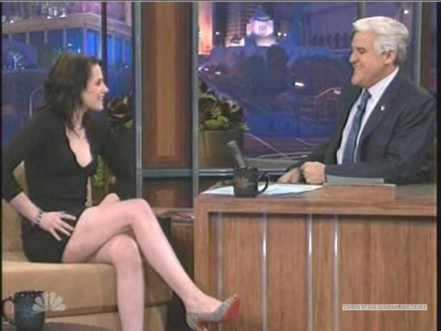 Kristen on The Tonight दिखाना With नीलकंठ, जय, जे Leno