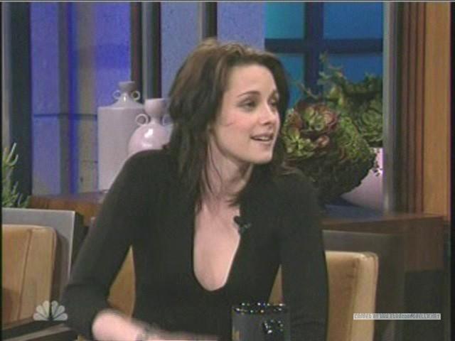 Kristen on The Tonight tunjuk With jay Leno