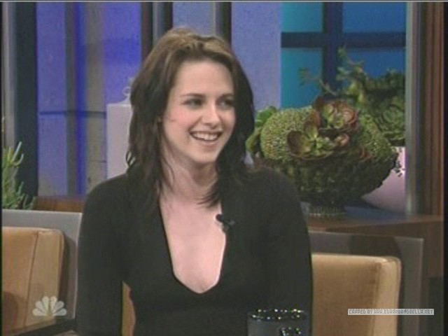 Kristen on The Tonight दिखाना With नीलकंठ, जय, जे Leno
