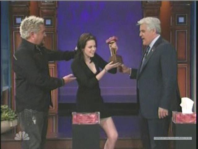 Kristen on The Tonight دکھائیں With جے Leno