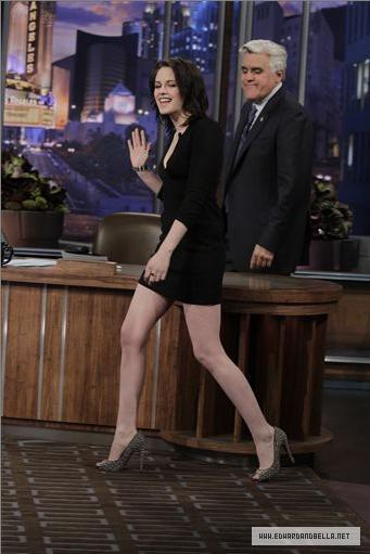 Kristen on The Tonight Show With 어치, 제이 Leno