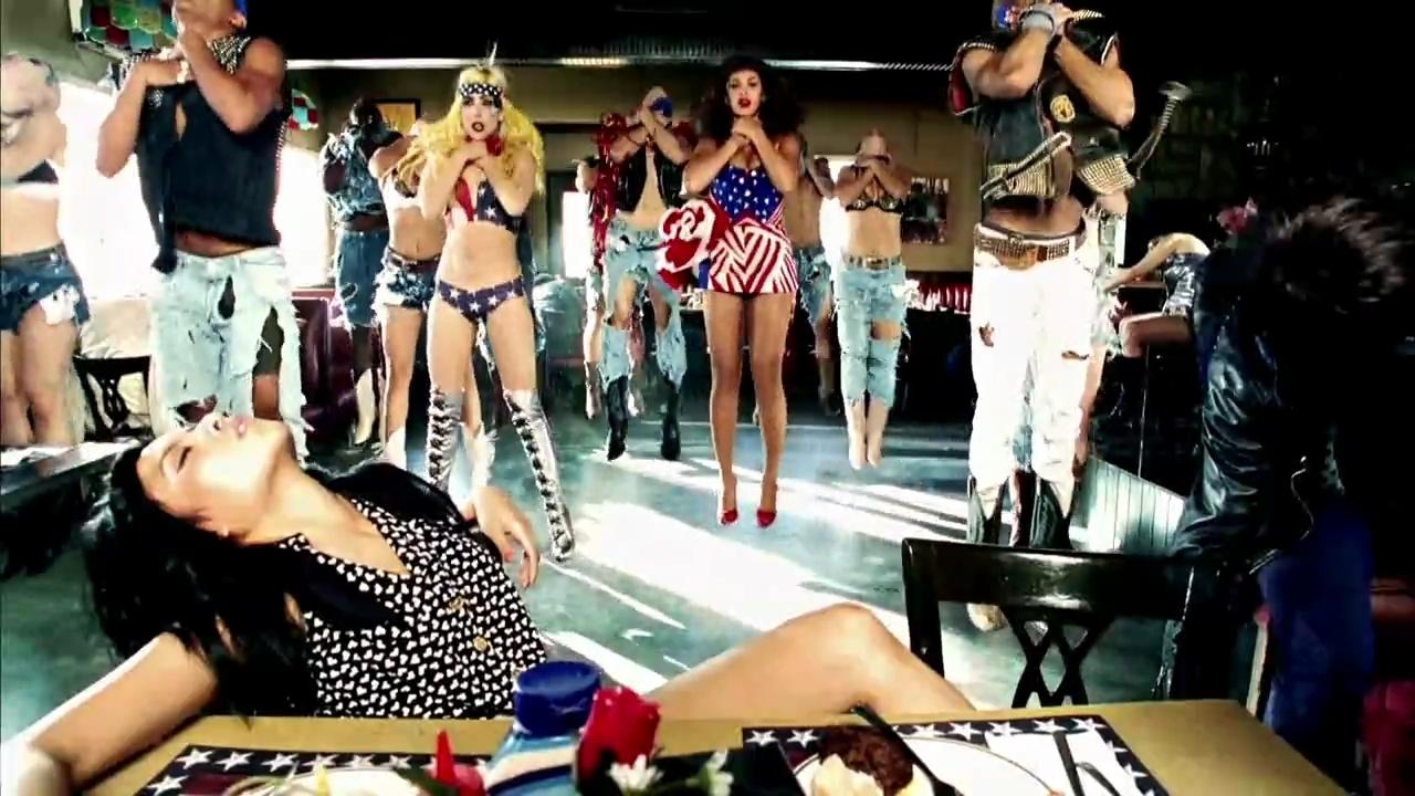 Lady Gaga + Beyonce Telephone muziek Video