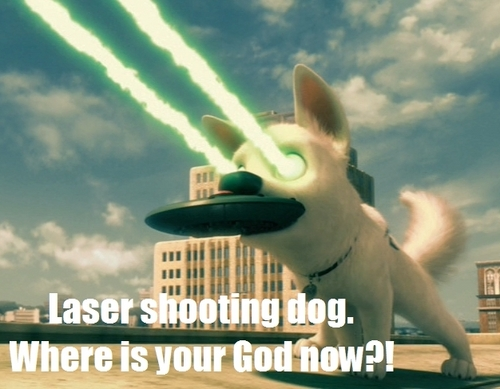 Laser Shooting Dog