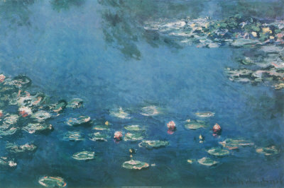 Lilly Pads door Monet The Beautiful Creation Of Art