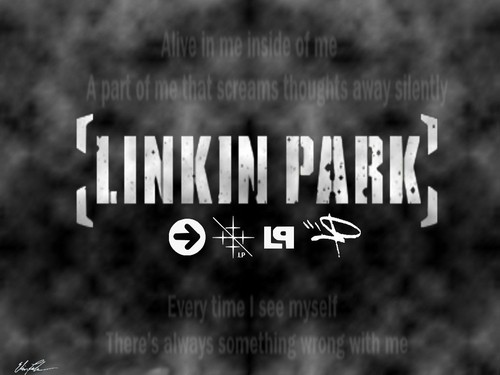 Linkin Park karatasi la kupamba ukuta