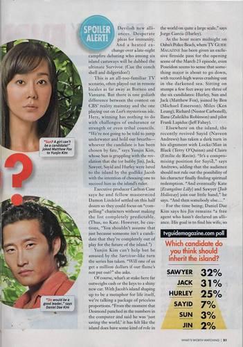 迷失 TV Guide Magazine [The Candidates]