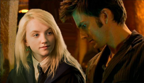 Luna Lovegood & Barty Crouch Junior