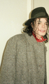 MJ Gray Coat - michael-jackson photo