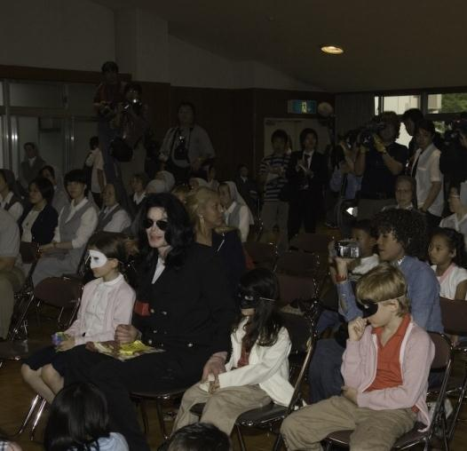 MJ With His Kids...
