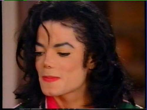 Michael Jackson wallpaper titled MJ interview with Oprah